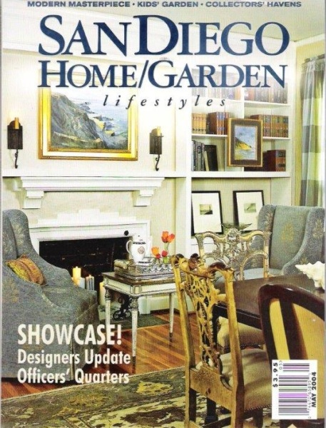 San Diego Home/Garden Magazine - Showcase House May 2004